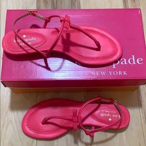 "Kate Spade ""Tallie"" T-strap sandals"